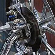 Disc Brakes Hot Rod Art Print