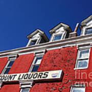Discount Liquor Store Art Print