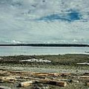 Low Tide Along The Discovery Passage Art Print