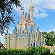 Disney Castle Art Print
