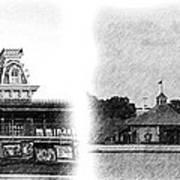 Disney Landmarks Art Print