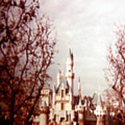 Disneyland 1977 Art Print