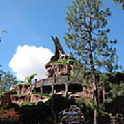 Disneyland Park Anaheim - 121220 Art Print