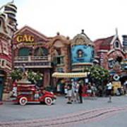 Disneyland Park Anaheim - 121232 Art Print