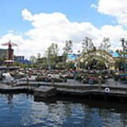 Disneyland Park Anaheim - 121255 Art Print