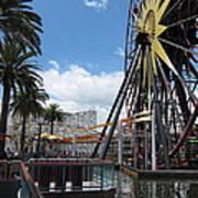 Disneyland Park Anaheim - 121257 Art Print