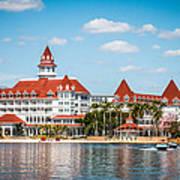 Disney's Grand Floridian Resort And Spa Art Print