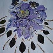Distorted Flower-dream Art Print