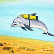 Dive Buddy Art Print