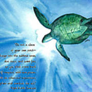 Dive Deep Print by Michal Madison