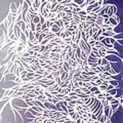 Divergant Purple Art Print