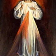 Divine Mercy II Art Print