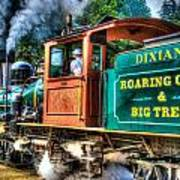 Dixiana Engine 3 Art Print