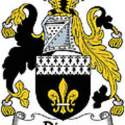 Dixon Coat Of Arms Irish Art Print