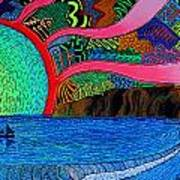 Dizzy Dana Point Art Print