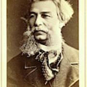 Dmitri I Vasilevich Grigorovich, Head-and-shoulders Portrait Art Print