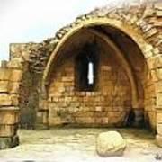 Do-00427 Citadel Of Sidon Art Print