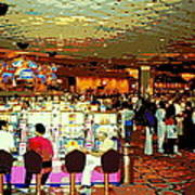 Do You Come Here Often ? Casino Slot Machine Pick Up Lines As You Gamble Your Life Savings Away Art Print