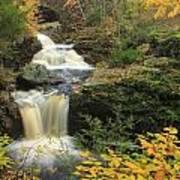 Doanes Falls In Autumn Art Print