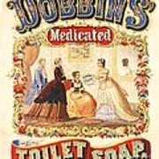 Dobbin's Toilet Soap Art Print