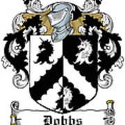 Dobbs Coat Of Arms Irish Art Print