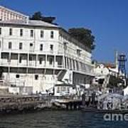 Dock At Alcatraz Island Art Print