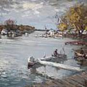 Dock At The Bay North Tonawanda Art Print