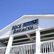 Dock House Restaurant Art Print