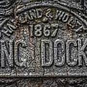 Dock Marker Art Print