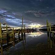 Dock Of The Bay Art Print by Bob Jackson
