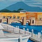Dock On Mandalay Bay Art Print