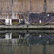 Dock Wall Art Print by Mark Rogan