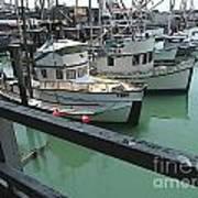 Docked Boats Art Print