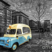 Docklands Ice Cream  Art Print