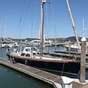 Docks At Sausalito California 5d22688 Print by Wingsdomain Art and Photography