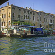 Docks On The Grand Canal Art Print