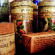 Doctor - Liver Pills In General Store Art Print