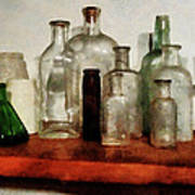 Doctor - Medicine Bottles Tall And Short Art Print