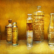 Doctor - Oil Essences Print by Mike Savad