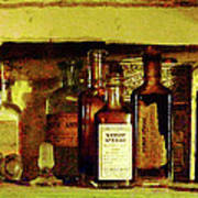 Doctor - Syrup Of Ipecac Art Print by Susan Savad