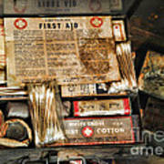 Doctor - The First Aid Kit Art Print