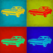 Dodge Charger Pop Art 2 Art Print