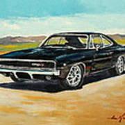 Dodge Charger Rt 1970 Art Print