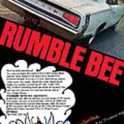 Dodge Coronet Super Bee - Rumble Bee Art Print