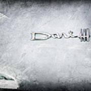 Dodge Dart 440 Emblem Art Print