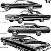 Dodge Rebellion '67 Art Print