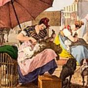 Dog Groomers, 1820 Art Print