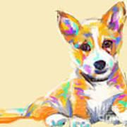 Dog Jerry Art Print