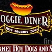 Doggie Diner Art Print