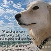 Doggie Soul Art Print